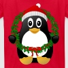 Christmas Penguin - Kids' T-Shirt