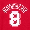 Birthday boy 8 years - Kids' T-Shirt