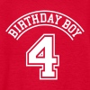 Birthday boy 4 years - Kids' T-Shirt