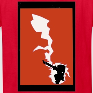 Castle crashers Red Knight print T-shirts - Kids' T-Shirt