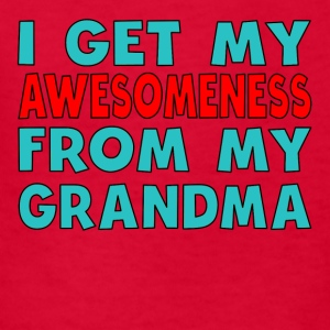I Get My Awesomeness From My Grandma - Kids' T-Shirt