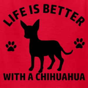chihuahua design - Kids' T-Shirt