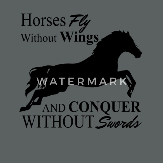 Horses Fly Without Wings Unisex Tie Dye T-Shirt | Spreadshirt