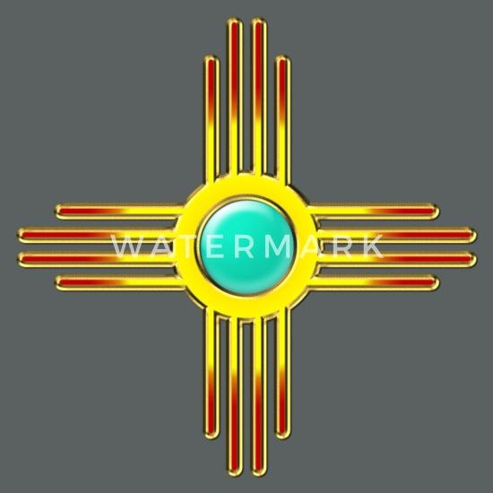 871db8c658944 Zia Sun, Zia Pueblo, New Mexico, Sun Symbol, DD 1 Unisex Tie Dye T ...