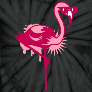 Flamingo with sunglasses