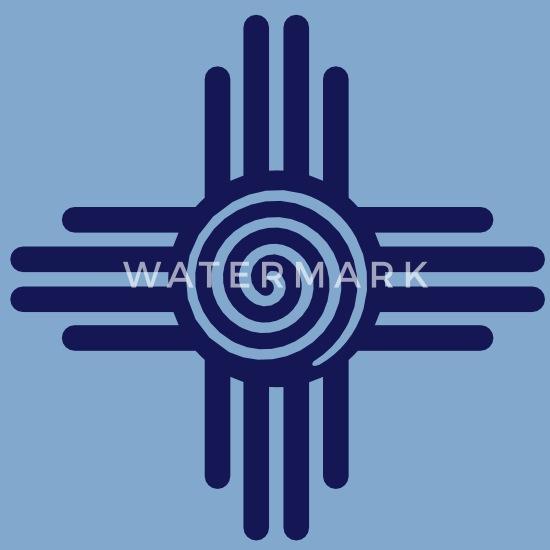 72c1f65ab4ab0 Zia Sun Spiral, Zia Pueblo, New Mexico, Sun Symbol, SVG, Unisex Tie ...