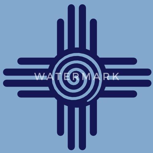 Zia Sun Spiral Zia Pueblo New Mexico Sun Symbol Svg By Yuma