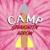 Camp Straighten Arrow - Unisex Tie Dye T-Shirt