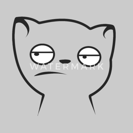 Funny cat meme face Kids' Hoodie | Spreadshirt