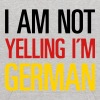 I AM NOT YELLING - I'M GERMAN - Kids' Hoodie