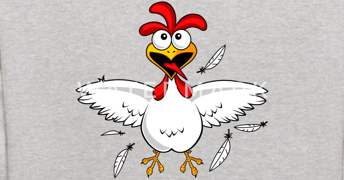 funny cartoon chicken by superdazzle spreadshirt