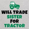 Will trade sister for tractor - Kids' Hoodie