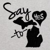 Say Yes To Michigan Heart Love Shirt Apparel Tees - Kids' Hoodie