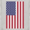 Independence Day cross-stitch american flag - Kids' Hoodie