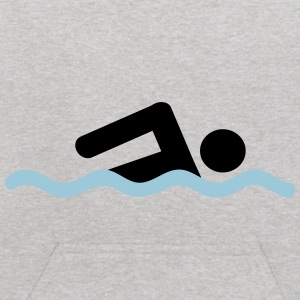 freestyle swimming - Kids' Hoodie