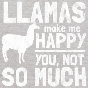 Llamas make me happy - Kids' Hoodie