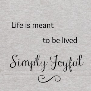 Live is Meant to be Lived Simply Joyful - Kids' Hoodie
