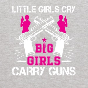 Second Amendment Big Girl Big Girl Carry Gun - Kids' Hoodie