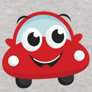 large happy car - Kids' Hoodie