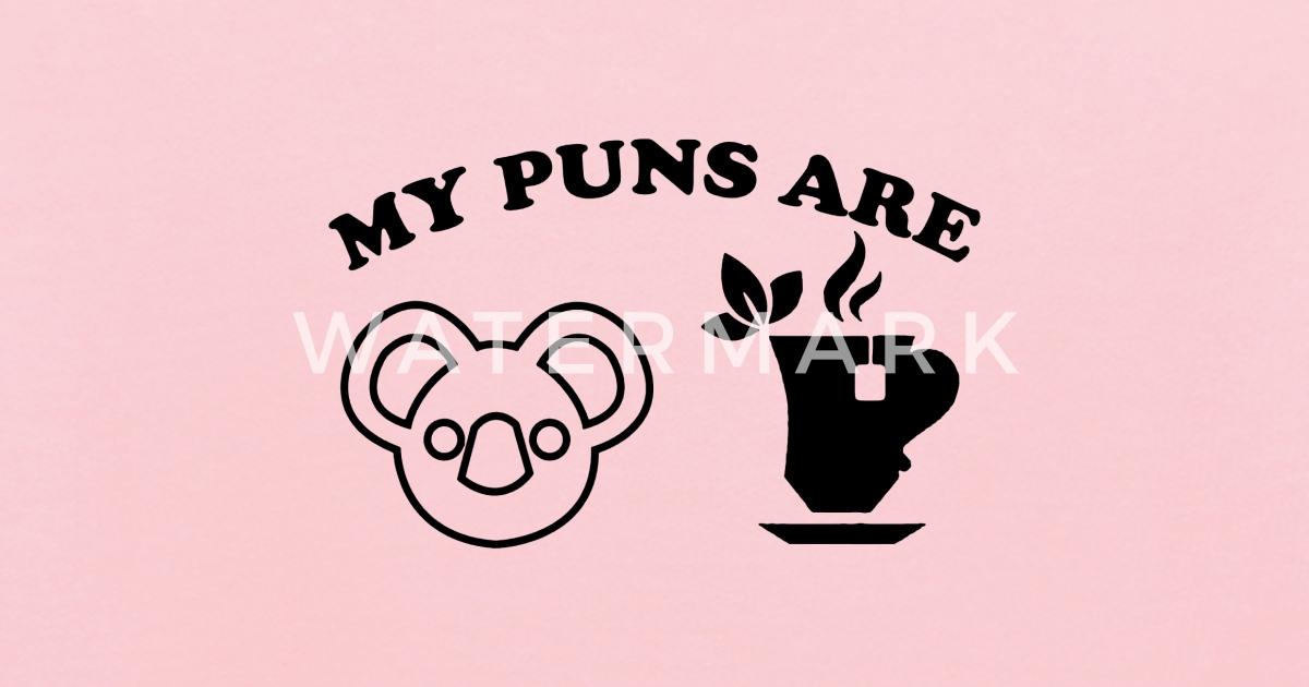 Koala Tea puns Kids' Hoodie   Spreadshirt