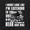 In my head i'm riding my Dirt Bike - Kids' Hoodie