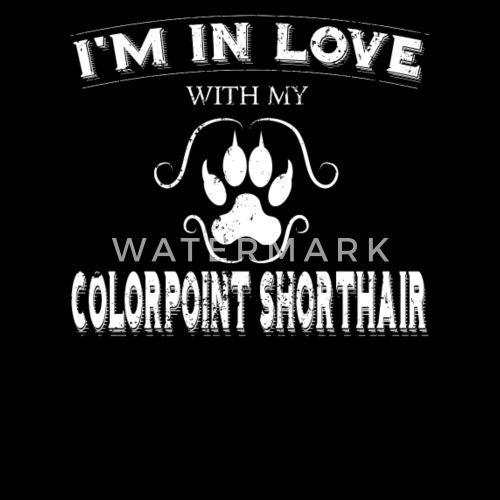 Anti Valentines Party Colorpoint Shorthair Cat By Spreadshirt