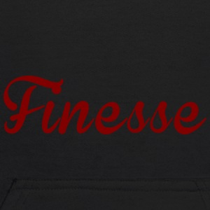 Finess Red written logo supreme design - Kids' Hoodie