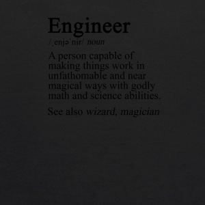 Engineer Definition - Kids' Hoodie