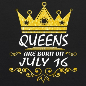 Queens are born on July 16 - Kids' Hoodie