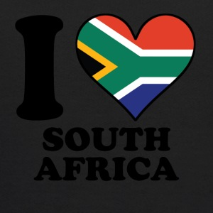 I Love South Africa South African Flag Heart - Kids' Hoodie