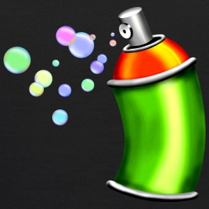 Spray can with soap bubbles - Kids' Hoodie