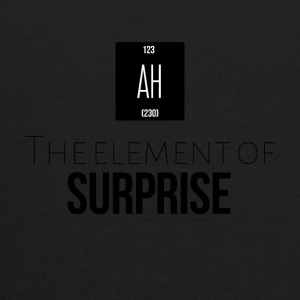 The element of surprise is AH - Kids' Hoodie