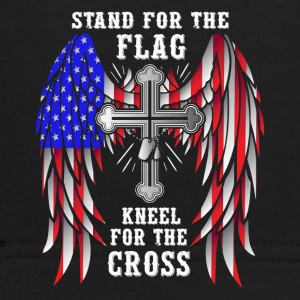 Stand For The Flag Kneel For The Cross - Kids' Hoodie