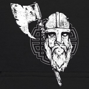 viking with axe crashed - Kids' Hoodie