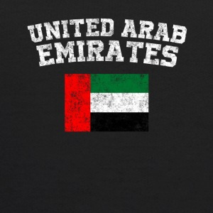 Emirati Flag Shirt - Vintage United Arab Emirates - Kids' Hoodie