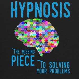 Hypnosis the Missing Piece to solving your problem - Kids' Hoodie