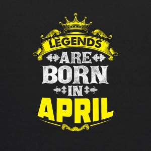 Legends are born in April - Kids' Hoodie