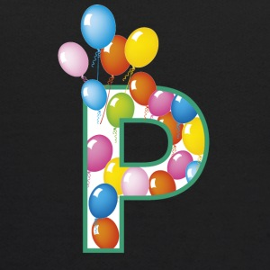 letter P ballons - Kids' Hoodie