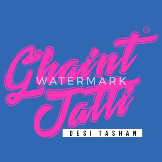 Ghaint Jatti Pink Kids' Hoodie   Spreadshirt