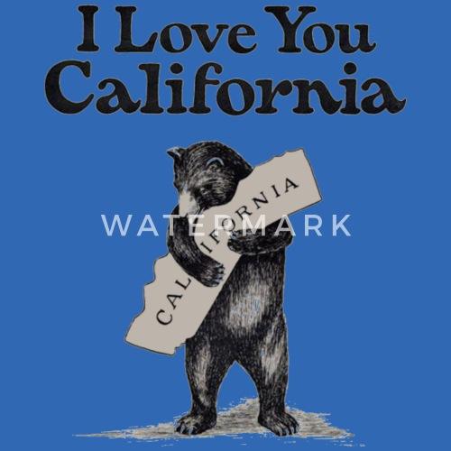 39398da0d I Love California Kids' Hoodie | Spreadshirt