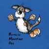 Funny Jumping Bernese Mountain Dog - Kids' Hoodie