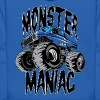 Monster Truck Maniac BIG - Kids' Hoodie