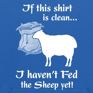 If this shirt is clean I haven t Fed the Sheep yet - Kids' Hoodie