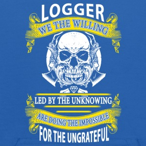 Logger we the willing T-Shirt - Kids' Hoodie