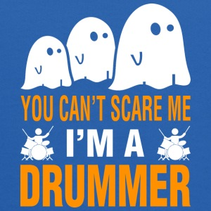 You Cant Scare Me Im Drummer Halloween - Kids' Hoodie