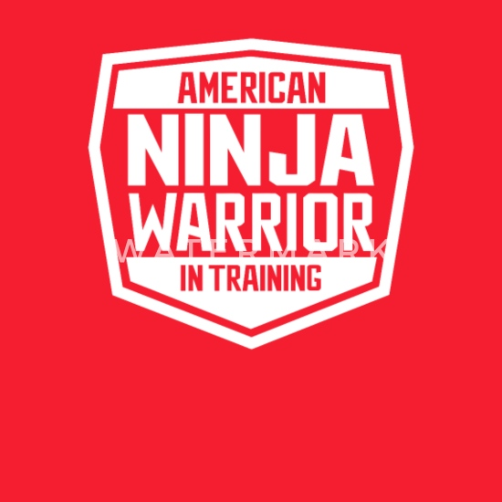 69b5be46ef9 American Ninja Warrior In Training Tshirt Kids' Hoodie | Spreadshirt