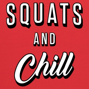 Squats And Chill - Kids' Hoodie