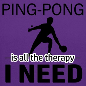 Ping Pong is my therapy - Crewneck Sweatshirt