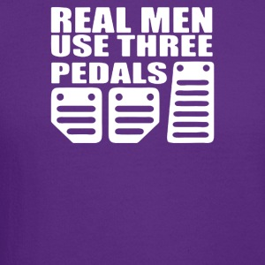 Real Men Use Pedals - Crewneck Sweatshirt