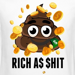 rich as shit - Crewneck Sweatshirt